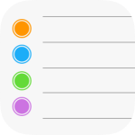Apple Reminders App Icon