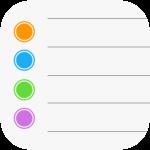 Apple Reminders App Icon