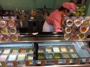...of ice cream flavors to choose from.