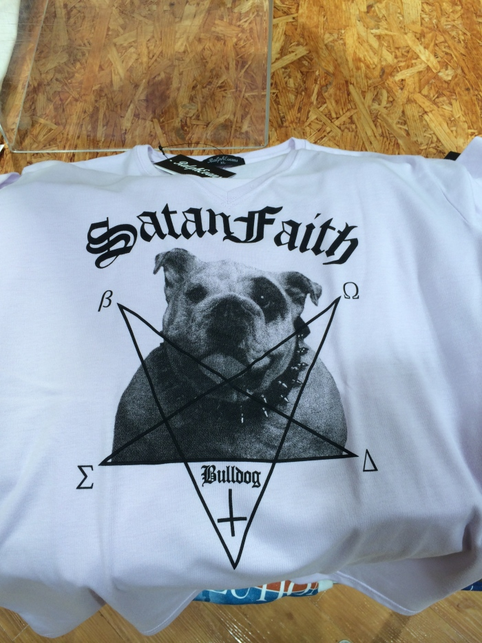 Satan Faith: Bulldog. hahahaha