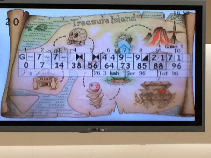 That, ladies and gentlemen, is a two-digit bowling score.