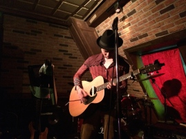 Open mic at Ruby Room