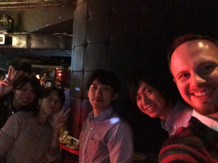 Yoshimura-chan, Hashidume-chan, Sasamon, and Okkun. Love these people!