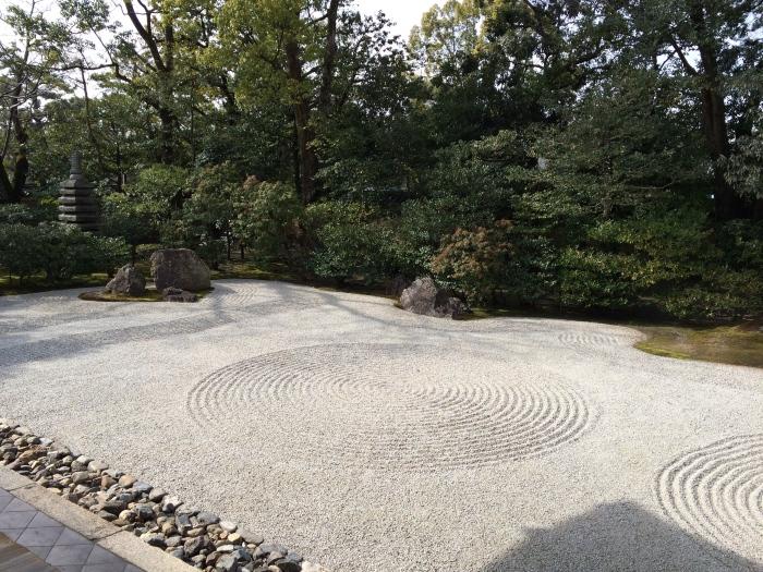 zen garden circle