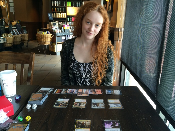 Playing MtG at Starbucks